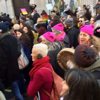 #17: The Women's March: A conversation about the London Womens March last weekend with Annalisa D'Innella